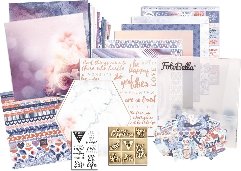 KaiserCraft Misty Mountains Scrapbooking Bundle