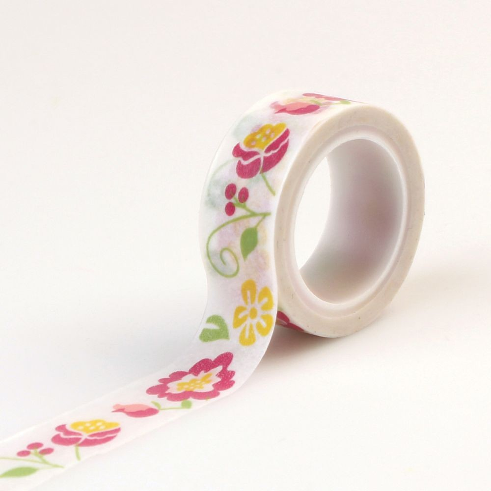 decorative tape floral by echo park for planners bullet