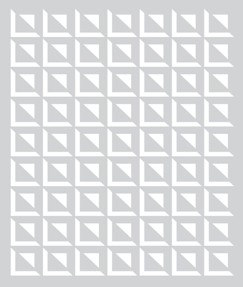 Basic Grey Small Square Grid