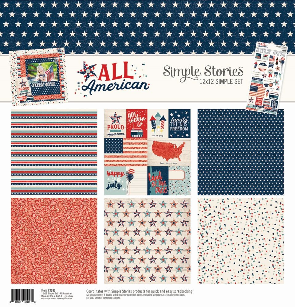 Simple Stories All American Simple Set Collection Kit