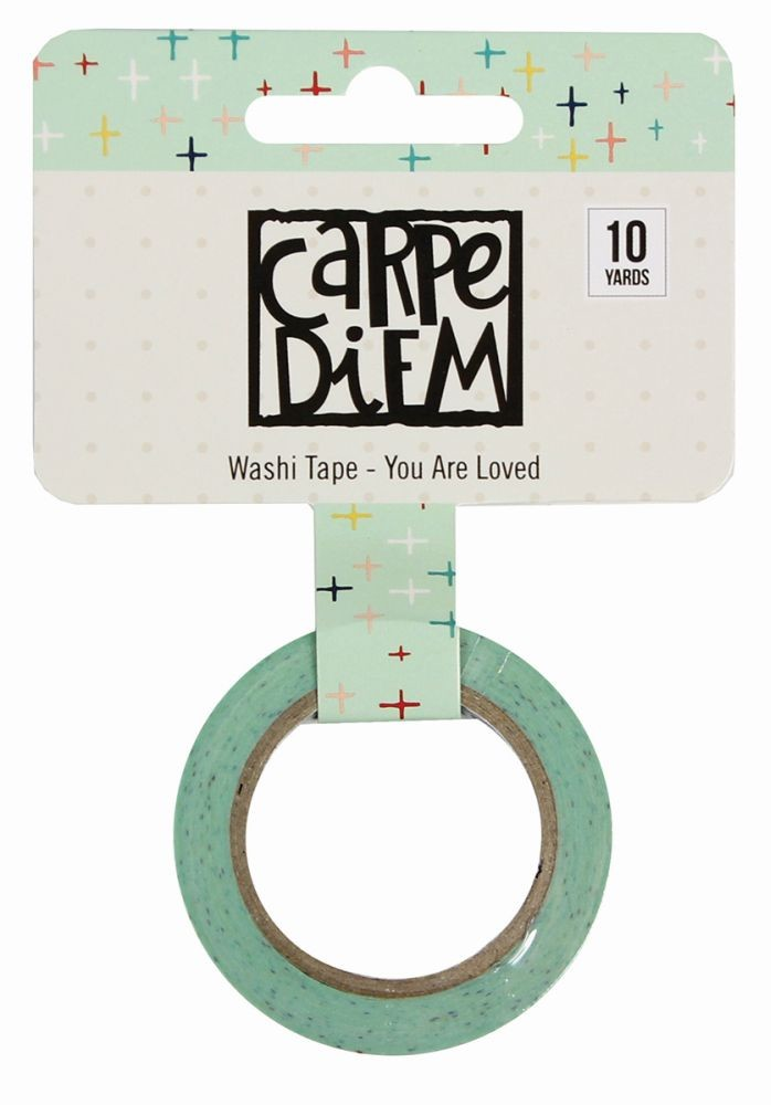 Simple Stories Carpe Diem - Faith Washi Tape - You Are Loved