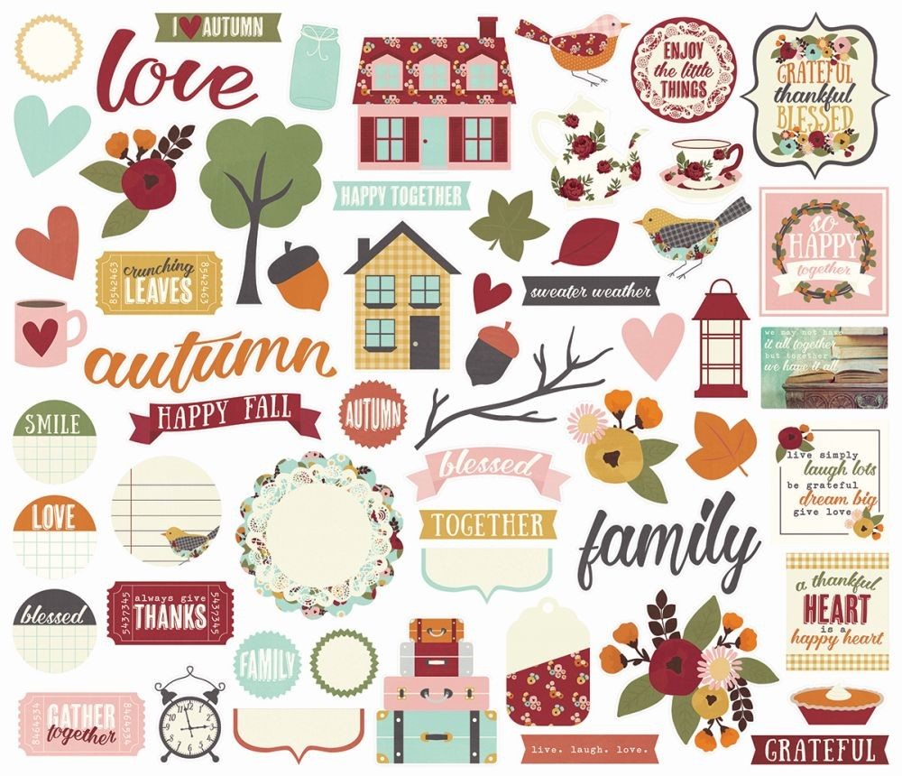 Simple Stories Vintage Blessings Bits & Pieces