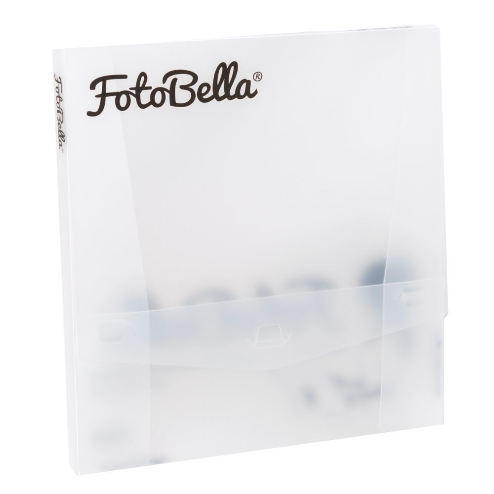 FotoBella Clear Storage Box for 12x12 Paper and Projects