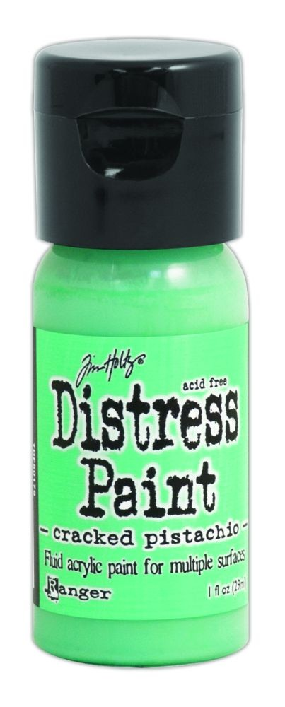 Tim Holtz Distress Paints 1oz. Flip Cap - Cracked Pistachio