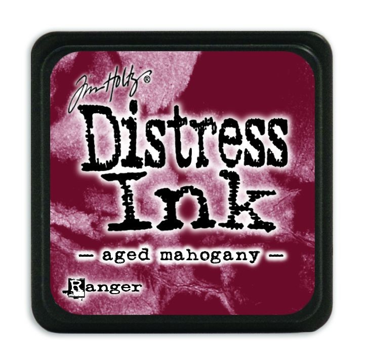 Tim Holtz Distress Mini Ink Pads - Aged Mahogany by Ranger