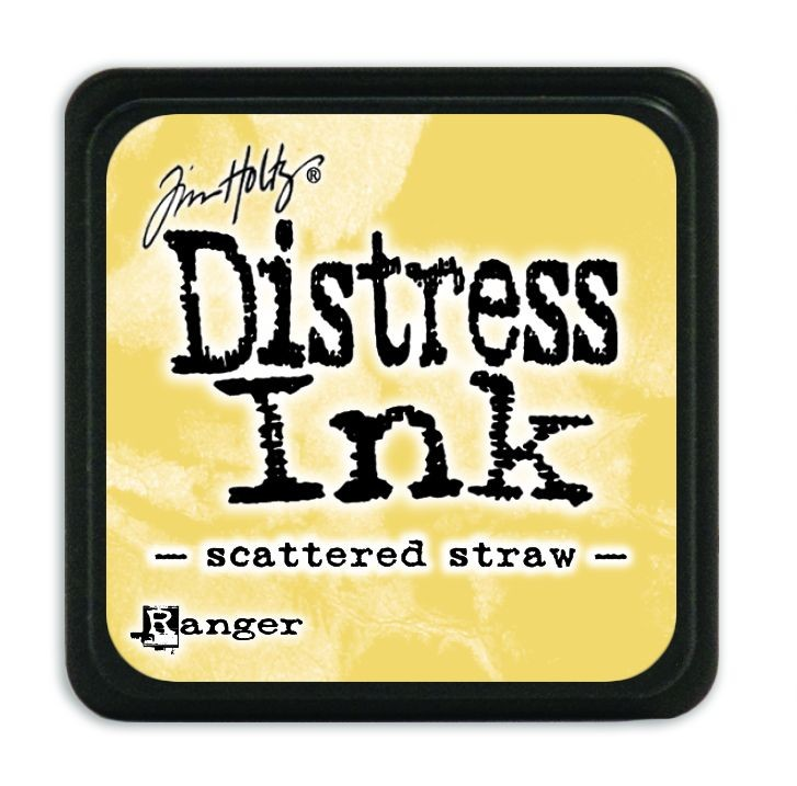 Tim Holtz Distress Mini Ink Pads - Scattered Straw by Ranger