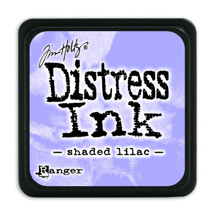 Tim Holtz Distress Mini Ink Pads - Shaded Lilac by Ranger
