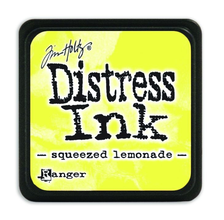 Tim Holtz Distress Mini Ink Pads - Squeezed Lemonade by Ranger