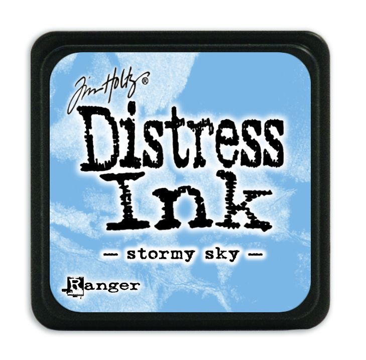 Tim Holtz Distress Mini Ink Pads - Stormy Sky by Ranger