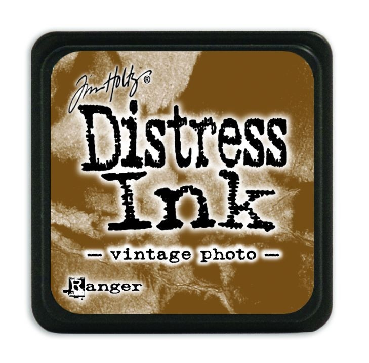 Tim Holtz Distress Mini Ink Pads - Vintage Photo by Ranger