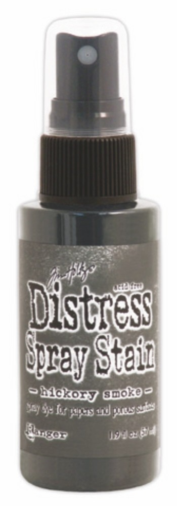 Hickory Smoke Distress Spray Stain by Ranger - Tim Holtz Distress Ink June Color Of The Month