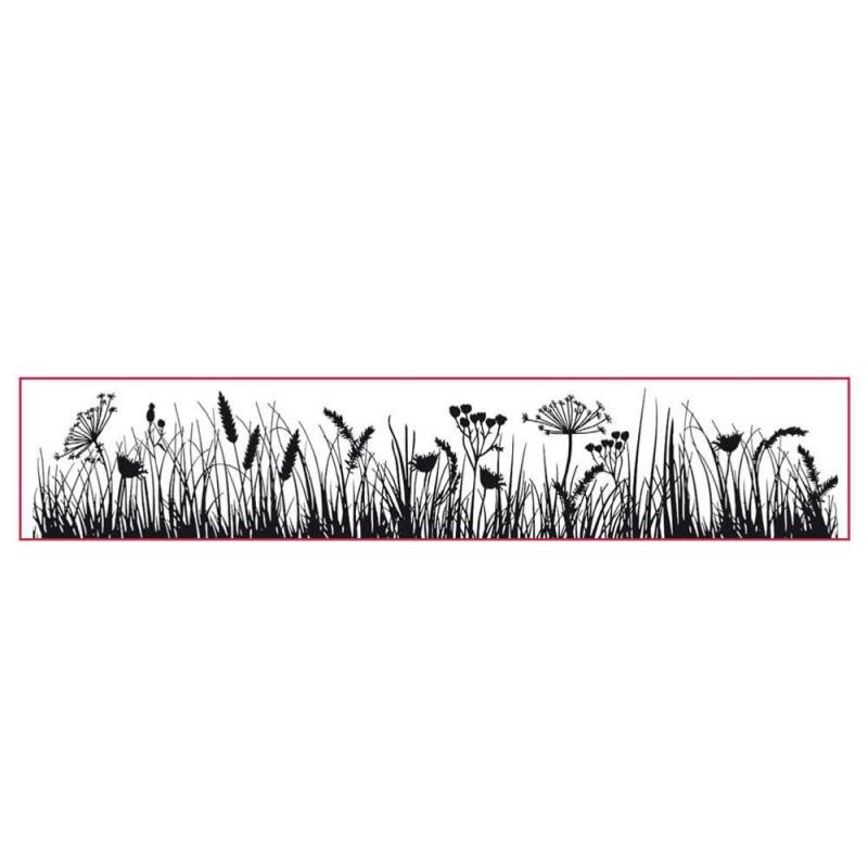 Stamperia High Definition Stamp cm. 4x18 Grassland