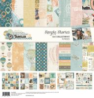 Simple Stories Simple Vintage Traveler 12x12 Collection Kit
