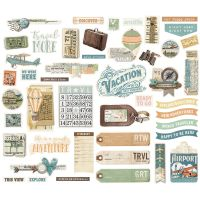 Simple Stories Simple Vintage Traveler Bits & Pieces