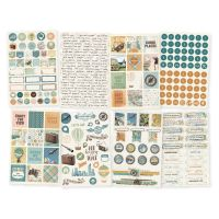 Simple Stories Simple Vintage Traveler 4x6 Stickers