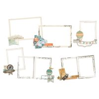 Simple Stories Simple Vintage Traveler Layered Frames