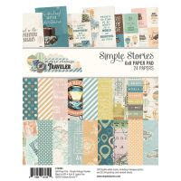 Simple Stories Simple Vintage Traveler 6x8 Pad