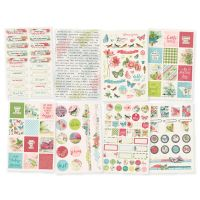 Simple Stories Simple Vintage Botanicals 4x6 Stickers