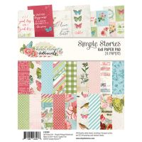 Simple Stories Simple Vintage Botanicals 6x8 Pad
