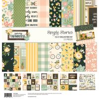 Simple Stories Spring Farmhouse 12x12 Collection Kit
