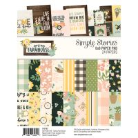 Simple Stories Spring Farmhouse 6x8 Pad