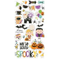 Simple Stories Say Cheese Halloween 6x12 Chipboard