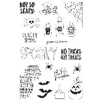 Simple Stories Say Cheese Halloween Stamps