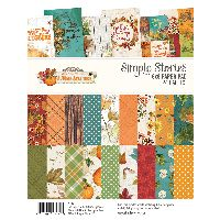 Simple Stories Simple Vintage Autumn Splendor 6x8 Pad