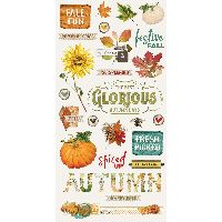 Simple Stories Simple Vintage Autumn Splendor 6x12 Chipboard