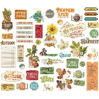 Simple Stories Simple Vintage Autumn Splendor Bits & Pieces
