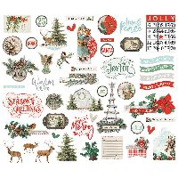 Simple Stories Simple Vintage Country Christmas Bits & Pieces