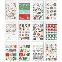 Simple Stories Simple Vintage Country Christmas Mini Sticker Tablet