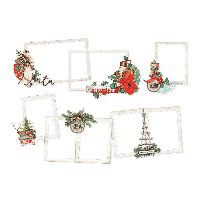 Simple Stories Simple Vintage Country Christmas Layered Frames