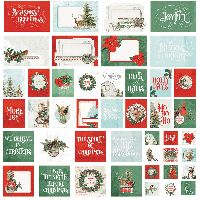 Simple Stories Simple Vintage Country Christmas SN@P! Cards