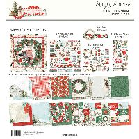 Simple Stories Simple Vintage Country Christmas Collector''s Essential Kit