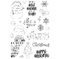 Simple Stories Say Cheese Christmas Stamps