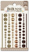 Bo Bunny Double Dot Mocha Jewels (86/package)