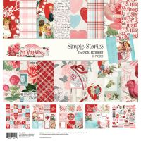 Simple Stories Simple Vintage My Valentine 12x12 Collection Kit