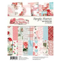 Simple Stories Simple Vintage My Valentine 6x8 Pad