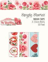 Simple Stories Simple Vintage My Valentine Washi Tape