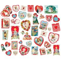 Simple Stories Simple Vintage My Valentine Card Ephemera