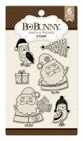 Bo Bunny Santa & Friends Stamp