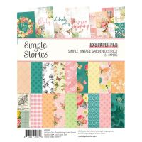 Simple Stories Simple Vintage Garden District 6x8 Pad