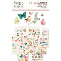 Simple Stories Simple Vintage Garden District 4x6 Sticker Book
