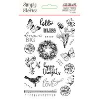 Simple Stories Simple Vintage Garden District Stamps