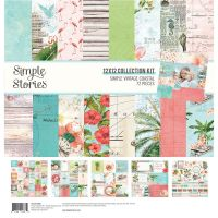 Simple Stories Simple Vintage Coastal 12x12 Collection Kit