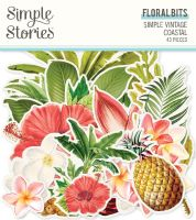 Simple Stories Simple Vintage Coastal Floral Bits & Pieces