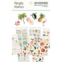 Simple Stories Simple Vintage Coastal 4x6 Sticker Book