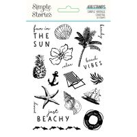 Simple Stories Simple Vintage Coastal Stamps