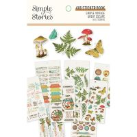 Simple Stories Simple Vintage Great Escape 4x6 Sticker Book